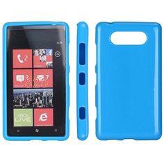Soft Shell (Blå) Nokia Lumia 820 Deksel Internet Explorer, Shells, Messages, Conch Shells, Conchas De Mar, Sea Shells, Seashells, Text Conversations