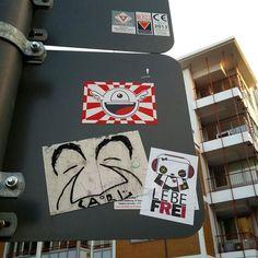 Viva colonia.. In the streets with @joey_yo  #sticker #streetart #pandakratie #stickertrades #vivelibre #bamboo #pandaismus #propapanda #streetart #germany #lebefrei #stickerart #stickertrade #pandakratie #stickerporn #stickerslap #kastreetart #streetphotography #stickerartist #slaps #streetart #lustiger #stickergalerie #stickerartgermany #aufkleberkunst #stickers #stickerporn #colonia #colognestreetart #inthestreets