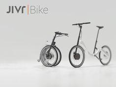 世界初!チェーンのない折りたたみ電動自転車「JIVR   Bike」