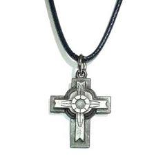 """Unisex Kette Kruzifix Anhänger Amulett Keltisch """" Kreuz """" Talisman 3,2 x 2,7 cm 43 cm lang Dreambase http://www.amazon.de/dp/B00GIJW2JE/ref=cm_sw_r_pi_dp_woI8tb1KVZ1J6"""