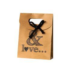 Cadeautasje kraft #nanaas #giftbag http://www.nanaas.nl/a-36947453/cadeaubonnen-inpakken/cadeauzakje-love-kraft/