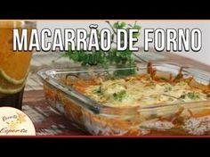 Macarrão de forno low carb: gratinado e sem carboidratos