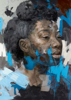 BP Portrait Award 2013 at National Portrait Gallery until 15 September 2013 (Image: Kholiswa by Lionel Smit, Contemporary Portrait Artists, Contemporary Art, Modern Portraits, Modern Art, Art Pictures, Photos, Amazing Pictures, Art Africain, South African Artists
