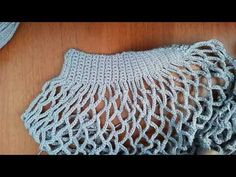 Soft Rope Tote Bag pattern by Andrea Marton Crochet Box, Crochet Motifs, Crochet Doll Pattern, Knit Crochet, Crochet Handbags, Crochet Purses, Diy Fashion Bags, Crochet Bag Tutorials, Crochet Squares Afghan