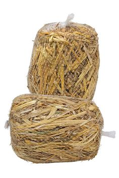 Keep water clear and algae-free • Safe for fish, pets, plants Mini Barley Bales