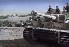 "Tiger of SS Panzergrenadier Division ""Das Reich"" at Kursk July 1943"