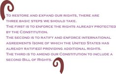 the fifth and sixth amendments