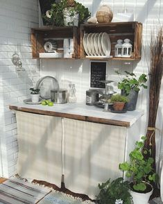 How to Build Outdoor Kitchen Cabinets? Outdoor Kitchen Cabinets, Build Outdoor Kitchen, Outdoor Kitchen Design, Kitchen Decor, Kitchen Ideas, Outdoor Cooking, Kitchen Shelves, Rustic Cabinets, Outdoor Kitchens