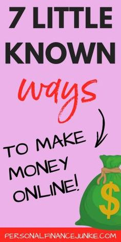 Discover several lit Discover several little known ways to make money online. Includes make money online surveys make money online without investments how to make side money online and how to make good money online. Make Money Online Surveys, Earn More Money, Earn Money From Home, Make Side Money, Make Money Fast, Online Data Entry, Money Today, Budgeting Tips, Extra Money