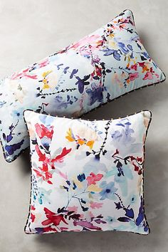 Wildflower Study Pillow #anthropologie
