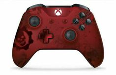 The Xbox Wireless Controller Gears of War 4 JD Fenix Limited Edition features a laser-etched design, unique in-game item, and three Gear Packs. Video Games Xbox, Xbox One Games, Xbox One S, Xbox Accessories, Xbox Wireless Controller, S Console, Gears Of War, Game Item, Lava