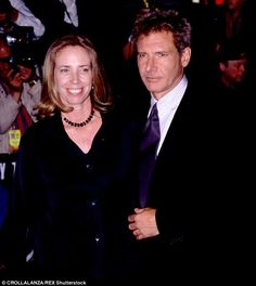 Passed away: Melissa Mathison, a screenwriter who was married to Harrison Ford from 1983 to 2004, died Wednesday in Los Angeles. She was 65. She's pictured here with Ford in 1998