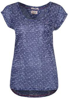 Hilfiger Denim - T-shirt z nadrukiem - niebieski