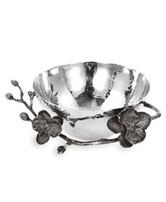 Michael Aram Black Orchid Nut Bowl - Serveware - Dining & Entertaining - Macy's