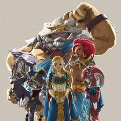 The Legend of Zelda: Breath of the Wild - The Champion's Ballad
