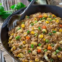 Best Fried Rice + Perfect Authentic RECIPE + VIDEO