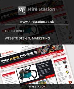 http://www.wsidigitalweb.com  Hire Station website created by WSI Digital Web