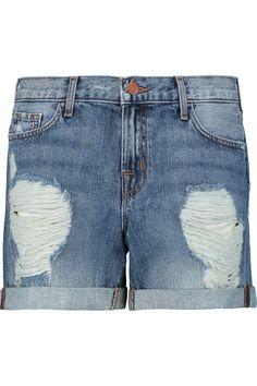 J BrandJoey distressed denim shorts