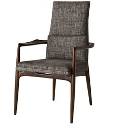 The Hannah Arm Chair - Dining Room - Seating - Furniture - Dering Hall.  Please contact Avondale Design Studio for more information on any of the products we highlight on Pinterest.