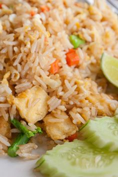 Chicken Fried Rice (Weight Watchers)