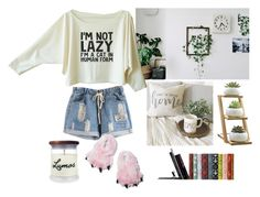 """""""On Lazy Days"""" by angeliquerivera ❤ liked on Polyvore featuring interior, interiors, interior design, home, home decor, interior decorating, Penguin Group, lazy, sleep and stayhome"""