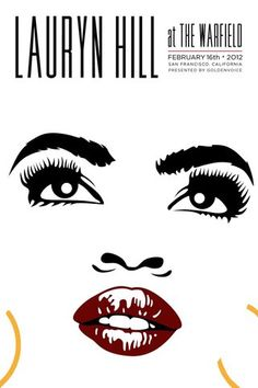 Lauryn Hill Poster Print, Lauryn Hill At The Warfield Feb. 2012 Art By Kii Arens Inches x 24 Inches), Lauryn Hill Warfield Poster Print, Lauryn Hill Posters/Wall Art, Lauryn Hill Merchandise Miseducation Of Lauryn Hill, Lauren Hill, Best Hip Hop, Jack Threads, Hip Hop Art, Concert Posters, Music Posters, Band Posters, Mtv Video Music Award