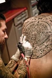 Aztec tattoo styles originate through the ancient & noble Aztec culture, which existed in central Mexico around the 14th century. The Aztecs were deeply religious, and their society was highly organized, consisting of priests, nobles, warriors, peasants and slaves. They were scientists and philosophers, and it is only very recently that scholars have begun to understand their intricate pictographic language. They were both enlightened and barbaric, and their records display remarkable…