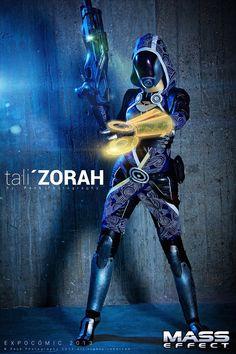 Tali'Zorah cosplay b...