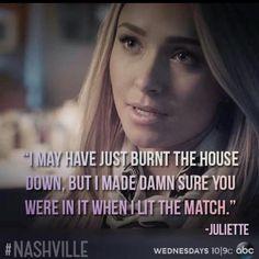 Nashville BEST SHOW! JULIETTE <3