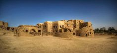 Ecolodge – 'Adrere Amellal' near Siwa Oasis in Egypt is a place one of a kind. It's an ecological 'resort' built entirely from local resources like mud bricks and palm tree wood found on site and around the oasis, just like the Berber tribes of the Sahara would do.