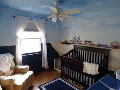 Project Nursery - Beach and Boardwalk Nursery Mural