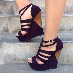 Black strapy high heel sandals fashion