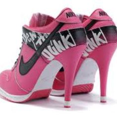 pretty nice 6eef2 97b96 Nike high heels Baskets, Nike High Heels, High Heel Jordans, High Heel  Sneakers