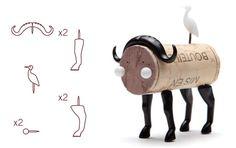 Corkers - Pushpin Cork Creatures (NOTCOT)