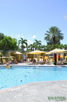 Rum Runners at Sirata Beach Resort   #Summer #Florida #Pool #BeachBar #Resort #Sun #Fun