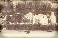 "El ""graffiti net"" del @movimentr també està inspirat en la R de Reduir Graffiti, Painting, Art, Art Background, Painting Art, Kunst, Paintings, Performing Arts, Painted Canvas"