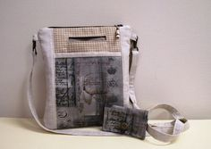 Cross Body Bag Outside Pocket  Phone Pocket by LynnpatriciaDesigns, $34.00