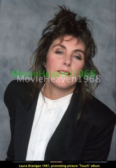 Laura Branigan 1987, promoting her new album Touch.