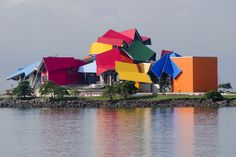 Frank Gehry, Biomuseo, Panama #architecture