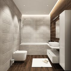 Apolodor Residence A Bathroom Interior Design, Interior Design Living Room, Interior Decorating, Apartment Balcony Decorating, Apartment Balconies, Bathroom Countertops, Design Case, House Design, Open Floor