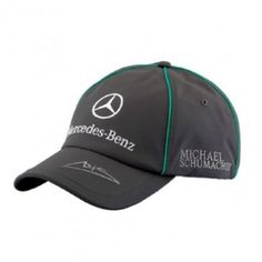 Puma Mercedes GP Grey Michael Schumacher Cap Paddock Studio. Available at www.paddockstudio.com