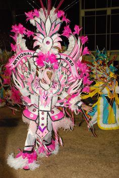 bahamian culture   One of the highlights of the Bahamian Junkanoo performance.