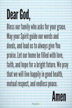68 Best Prayers for Family images | Prayer for family ...