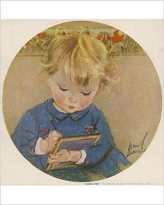 Amazon.com - Photographic Print of Lesson Time by Muriel Dawson -