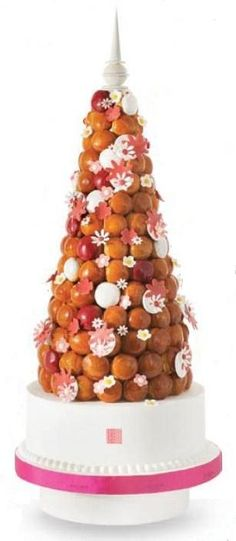 Profiterole Tower Cake How Is It Called