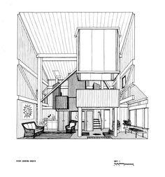 Charles W Moore | Condominium One | Sea Ranc; Sonoma County;California | 1965 Turnbull, William | CED Archives