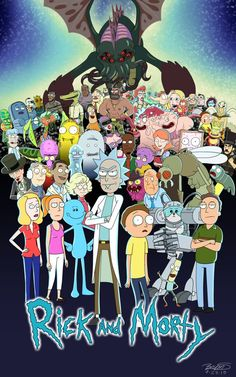 Rick and Morty Adult Swim fondos animados Geeks, Ricky Y Morty, Rick And Morty Poster, Wubba Lubba, Fan Poster, Adult Cartoons, Watch Cartoons, Nerdy, Graffiti
