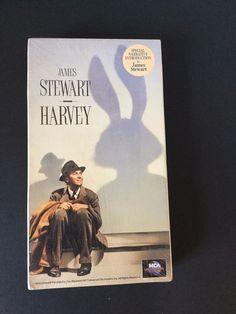 Harvey VHS Tape James Stewart Josephine Hull Charles Drake Brand New Vintage
