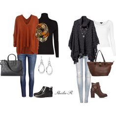 Fall/Winter Outfits for us ladies over 40 :) by sheila-r on Polyvore featuring Joseph, Topshop, MANGO, Quiksilver, H&M, Pull&Bear, Forever 21, Merona, Anna Field and FOSSIL