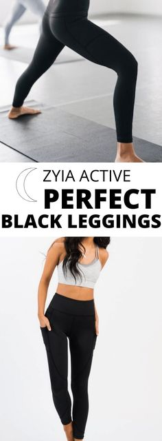 Your quest to find the perfect black leggings at the right price is over. These are THE BEST EVER. They stay put during workouts, never have to be adjusted, and are highly compressive so you get an instant tummy tuck! They have pockets! High quality but less expensive than lululemon and athleta! Fitness Tips, Fitness Motivation, White All Stars, Tummy Tucks, Black Bomber Jacket, Healthy Lifestyle Tips, Just Run, Fit Motivation